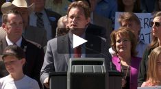 Nielsen, Gallagher & North State Residents Rally for Water at State Capitol 4.27.15