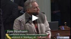 Nielsen Defends Taxpayers' Rights on Assembly Floor*
