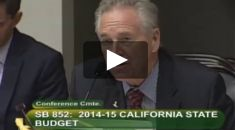Senate Budget Vice-Chair Jim Nielsen pushes for local government debt relief 6.4.14