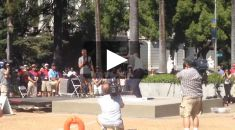 Senator Jim Nielsen opens the USATF Outdoor Track and Field Championship at the California State Capitol