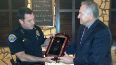Officer Honored
