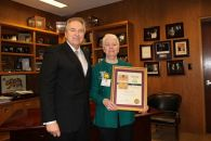 Maggie John (Redding) named the 2011 'Woman of the Year'
